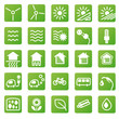 Vector Icons Renewable Energy
