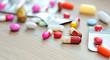 Assorted pills