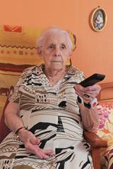 senior et télécommande