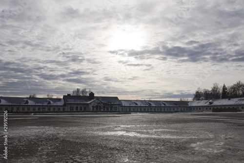 concentration camp buildings