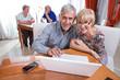 Habitants in the retirement house