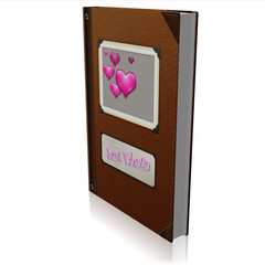 l'album de la st valentin 3d