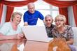 Seniors addicted to new technologies