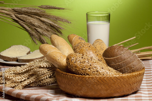 still-life with bread