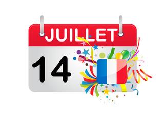 Holiday Calendar FRANCE National Day