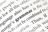 Fototapety grammar