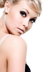 Beautiful young sensual glamour women