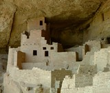Cliff dwellings at Mesa Verde, Colorado poster