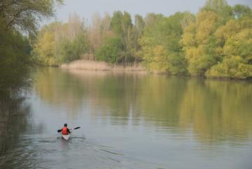 Río Segre en Lérida