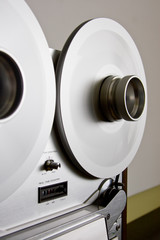 Audio Reels spinning
