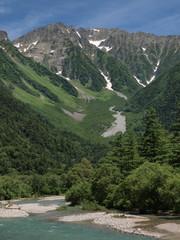 上高地の美しい風景