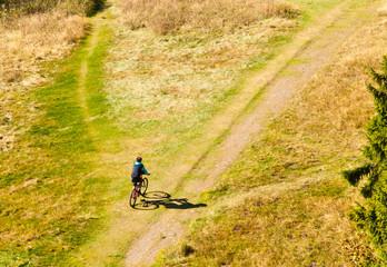 Mountain Biker Off-Road