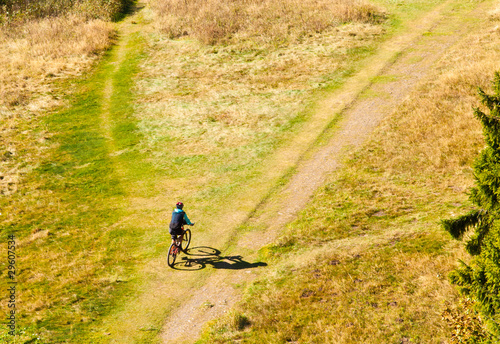 Mountain Biker Off-Road