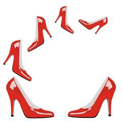 Rote Highheels