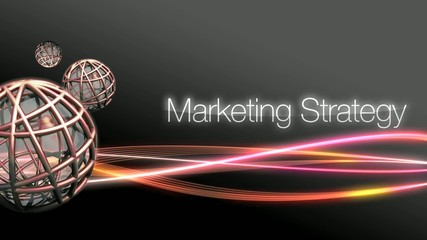 Marketing straegy background video