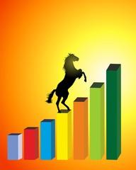 caballo grafica