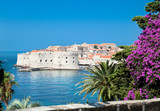 A panoramic view of an old city of Dubrovnik