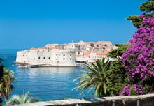 """Постер, картина, фотообои """"A panoramic view of an old city of Dubrovnik"""""""