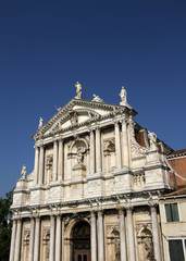 Santa Lucia church in Venice
