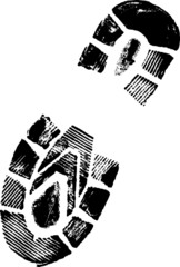 Highly detailed image of a Bootprint