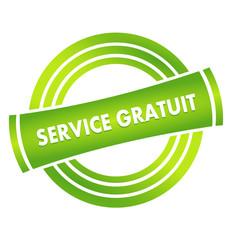 service gratuit sur vignette verte