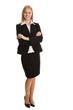 Beautiful sucessful businesswoman