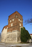 The tower of old Royal Wawel Castle in Krakow, Poland poster