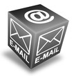 Email button 3d