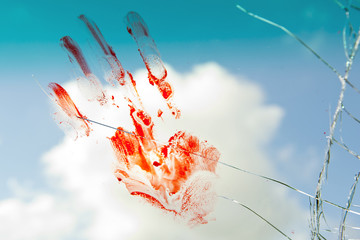 Bloody Handpalm