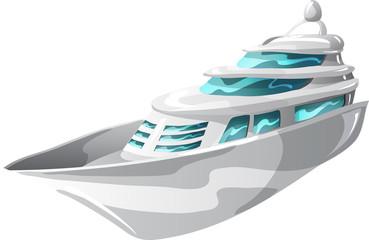 Large motor yacht