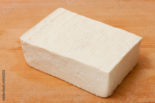 TOFU on a Cutting Board