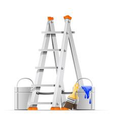 set painter tools vector
