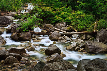 Shannon Falls, Squamish, Canada