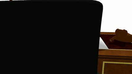 Video del despacho del juez