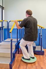 Esercizio di fisioterapia