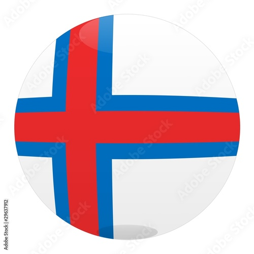 boule iles feroe faroe islands ball drapeau flag