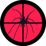 In the Scope Series – Spider poster
