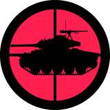 In the Scope Series – Tank poster