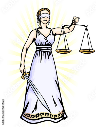 Themis - a goddess of justice