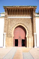 La porta di una moschea marocchina