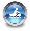 "Glossy Pictogram ""Rowboating"""