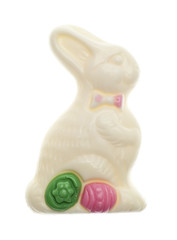 White Chocolate Easter Bunny Candy