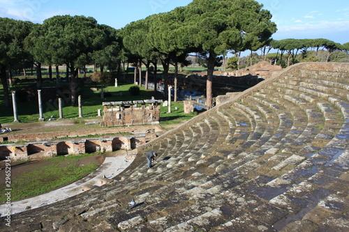 Ostia Antica - amphitheatre