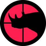 In the Scope Series – Rhinoceros poster