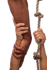 Extending an Arm to the One in Need