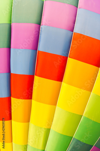 color pattern of hot air balloon