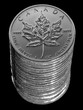 Stapel Maple Leaf Kanada Silbermünze Silverdollar