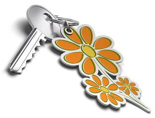 clé de maison écologique - maison passive concept