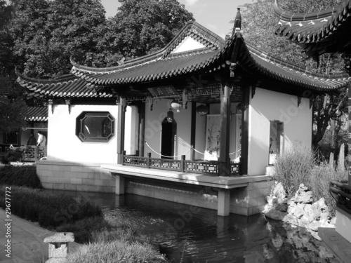 Chinesisches haus von levaliss lizenzfreies foto for Traditionelles chinesisches haus