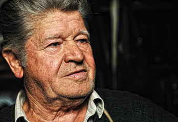 Elderly man, portrait